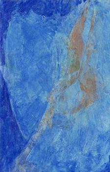 Farbstudie Blau Braun